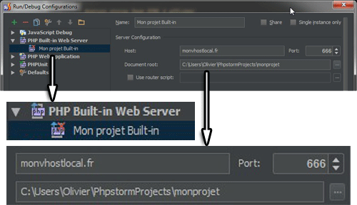 Solution PhpStorm RunDebug Configurations pour Windows - WAMP