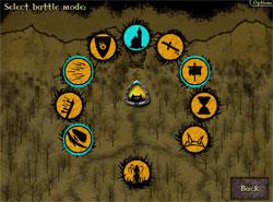 Gemcraft écran de combat