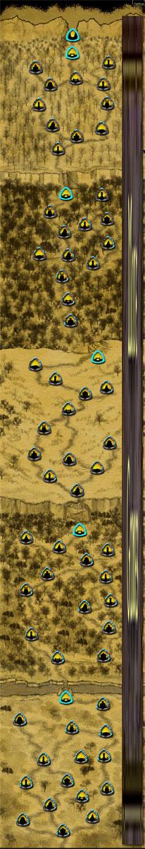 Gemcraft map complète de tous les niveaux