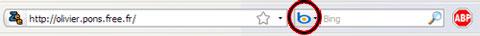 Firefox Bouton Bing de recherche imposé sans validation de l'utilisateur