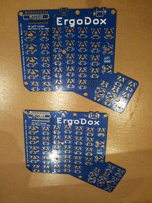 Dépaquetage de l'Ergodox - étape 2