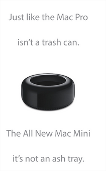 Mac pro is not a trash can - Mac pro n'est pas une poubelle