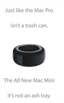Mac pro is not a trash can - Mac pro n'est pas une poubelle